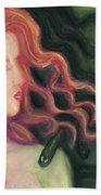 Shadow Of Medusa Bath Towel