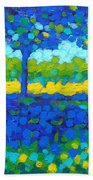 Shadow Trees Bath Towel