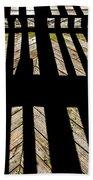 Shadows And Lines - Semi Abstract Bath Towel
