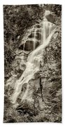 Shannon Falls - Bw Hand Towel