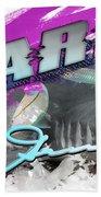 Shark Life Pink Lemon Shark Bath Towel