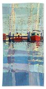 Shark River Inlet Bath Towel