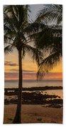 Sharks Cove Sunset 4 - Oahu Hawaii Bath Towel