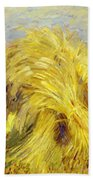 Sheaf Of Grain 1907 Bath Towel