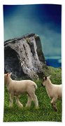 Sheep Whisperer Bath Towel
