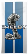 Shelby Cobra - 3d Badge Bath Towel