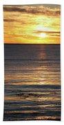Shell Beach Sunset Bath Towel