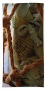 Shells In A Bottle Hand Towel by Diane Reed