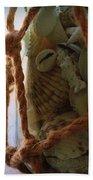 Shells In A Bottle Bath Towel by Diane Reed