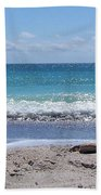 Shells On The Beach Bath Towel