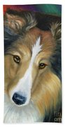 Sheltie - Collie Bath Towel