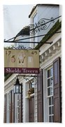 Shields Tavern Sign Hand Towel