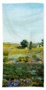Shinnecock Hills, Summer - William Merritt Chase Bath Towel