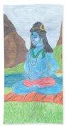 Shiva  Bath Towel