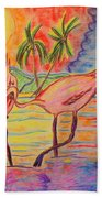 Shorebirds Bath Towel
