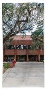 Shores Building At Florida State University Bath Towel