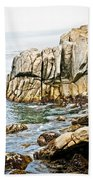 Shores Of Pebble Beach Bath Towel