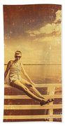Shorncliffe Pier Pin Up Hand Towel