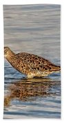 Short-billed Dowitcher Bath Towel