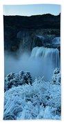 Shoshone Falls Panorama Hand Towel