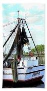 Shrimp Boat Bath Sheet