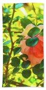 Sketchy Rose Bath Towel