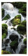 Side Of Clearwater Falls Bath Towel