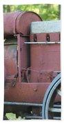 Side Of Mccormic Deering Tractor   # Bath Towel