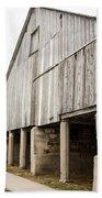 Side Of The Amana Farmer's Market Barn Amana Ia Bath Towel