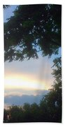 Side Ways Glance Of Nature Hand Towel