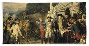 Siege Of Yorktown Bath Towel