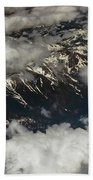 Sierra Nevada Mountains  Bath Towel