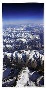 Sierra Nevada Range Bath Towel