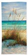 Siesta Key Beach Dunes  Bath Towel