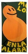Silly Squash Hand Towel