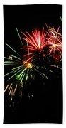 Silute 500. Lithuania. Fireworks 01 Bath Towel