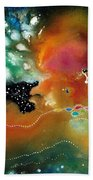 Silver Dreams Of The Desert Hand Towel