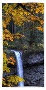 Silver Falls State Park Oregon Bath Towel