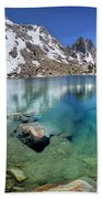 Silver Pass Tarn - Johm Muir Trail Bath Towel
