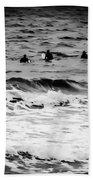Silver Surfers Bath Towel