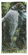 Silverback-king Of The Mountain Mist Bath Towel