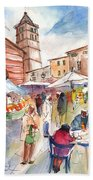 Sineu Market In Majorca 01 Bath Towel