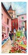 Sineu Market In Majorca 05 Bath Towel