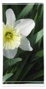 Single Daffodil Bath Towel