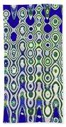 Single High Rise Abstract Phoenix Bath Towel