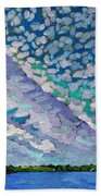 Singleton Altocumulus Morning Bath Towel
