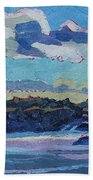 Singleton Solstice Stratocumulus Bath Sheet by Phil Chadwick