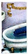 Sinking Or Floating Bath Towel
