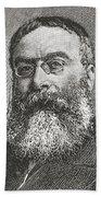 Sir Walter Besant, 1836 -1901. English Bath Towel