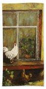 Sittin Chickens Bath Towel